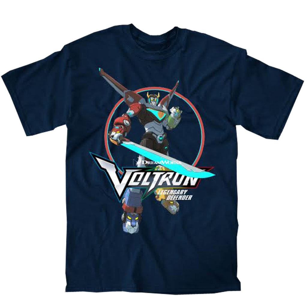 Voltron Legendary Defender T-shirt