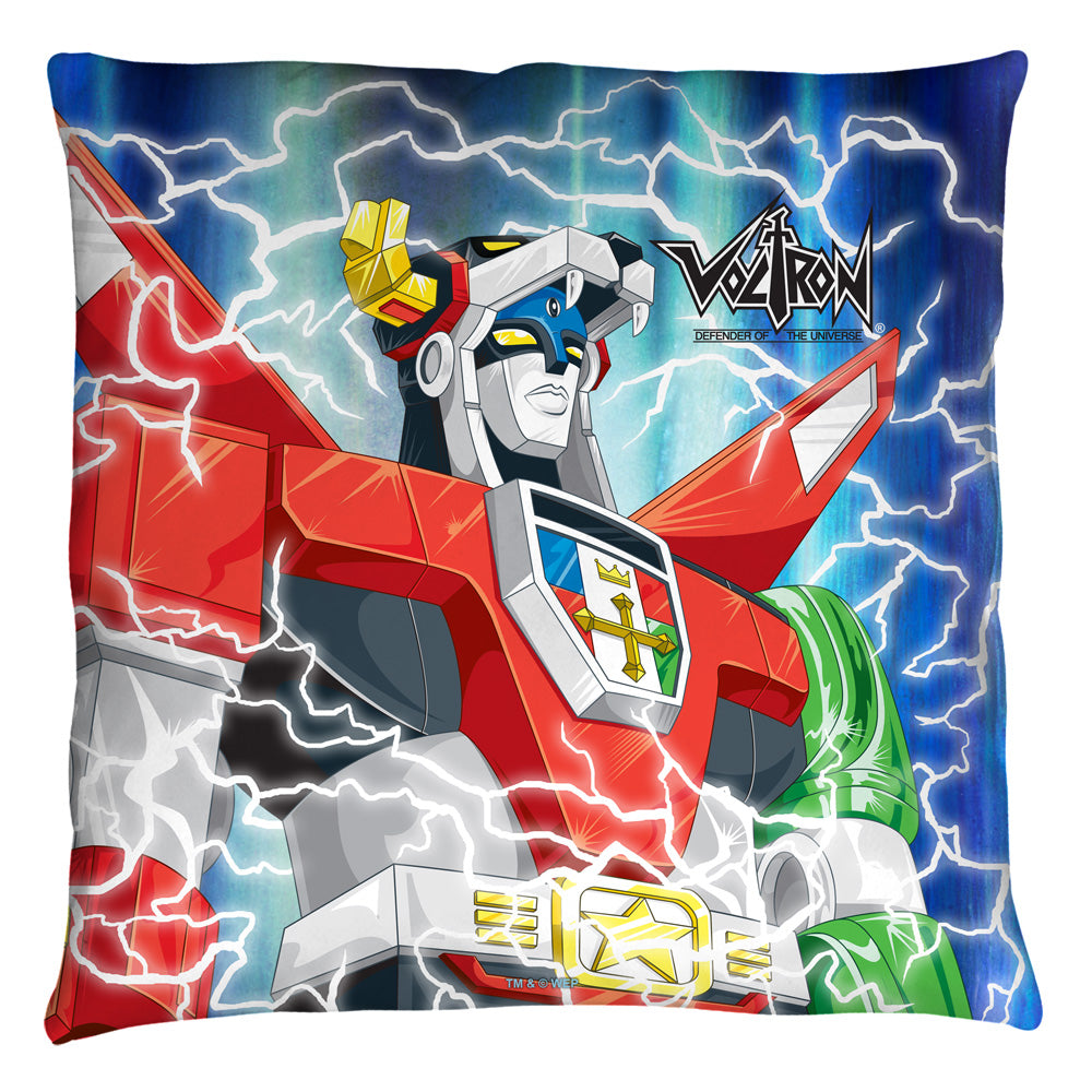 Voltron throw pillow NEW