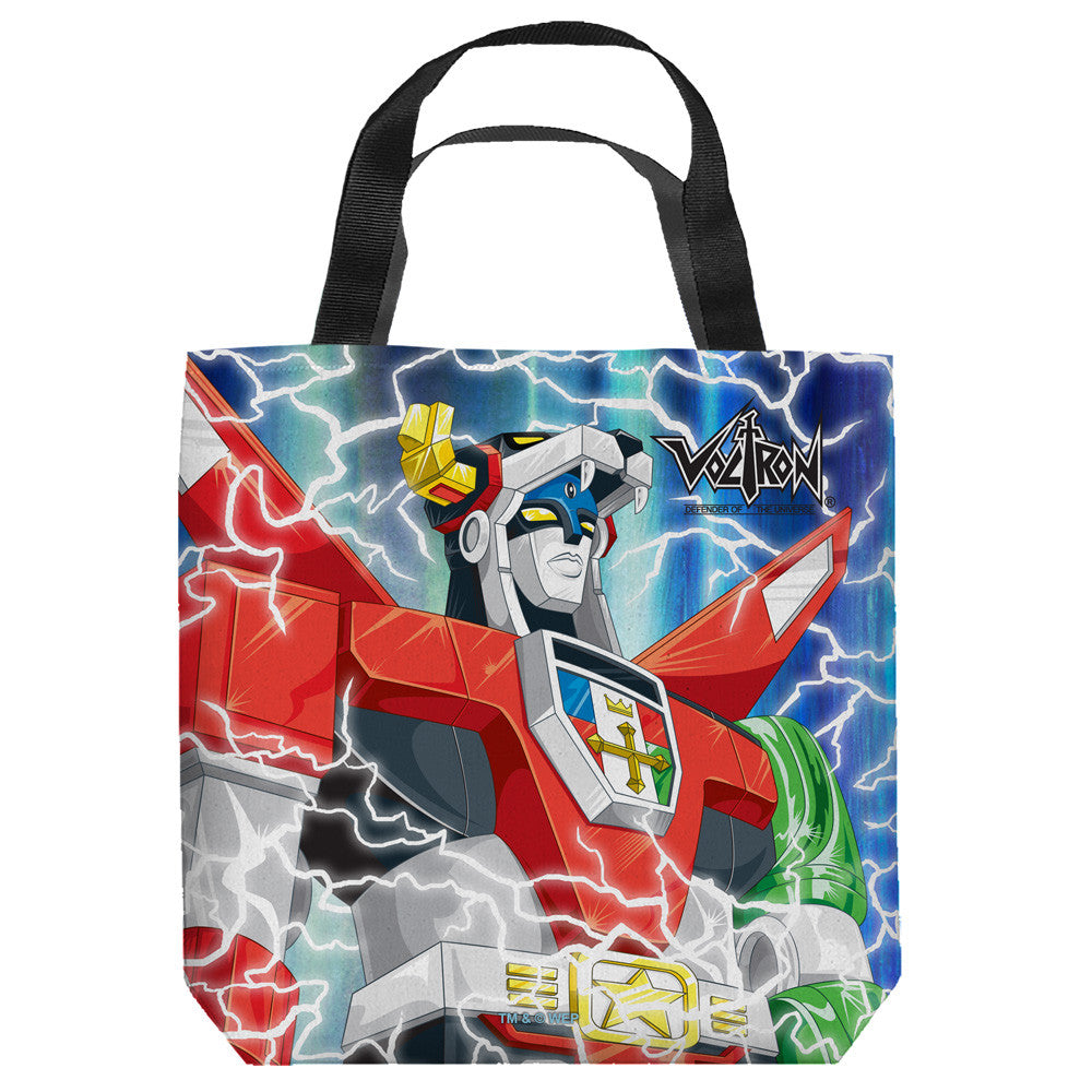 voltron large tote bag - Large Tote Bags