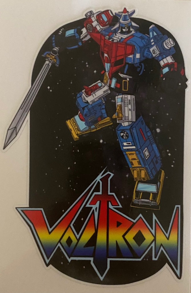 Vehicle Voltron decal