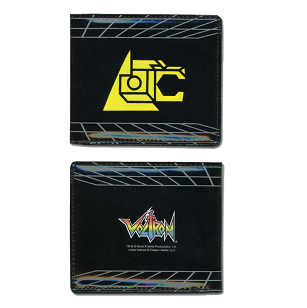 Voltron Wallet Lion Symbol Black