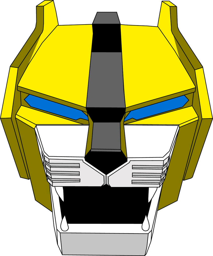 Yellow Lion Decal
