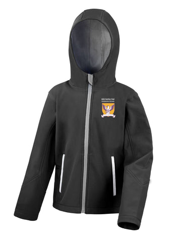 Brownlow I.C PE Softshell Jacket (Kids)