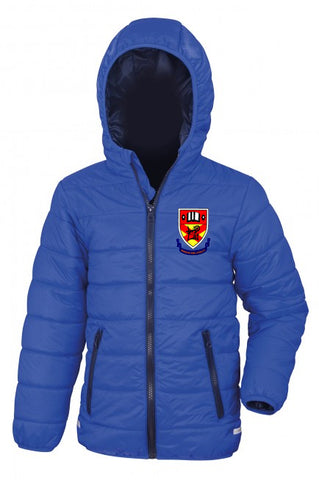 Clounagh JHS Kids Puffa Jacket