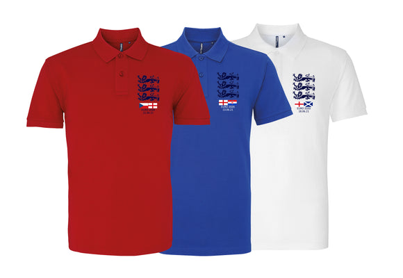 Euro 2020 England Triple Pack Polo Shirt