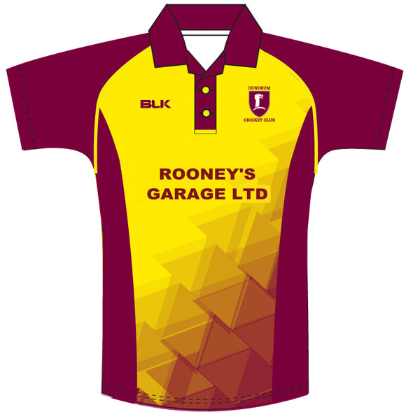 Dundrum Cricket Colours Shirt Senior