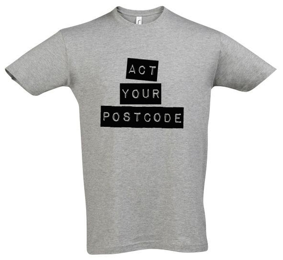 Paddy Raff Act Your Postcode T-Shirt (Mens)