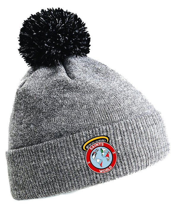 Saints World Bobble Hat