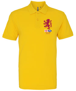 Euro 2020 Scotland v England Polo Shirt