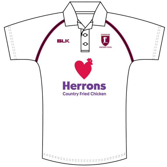 Dundrum Cricket Whites Shirt