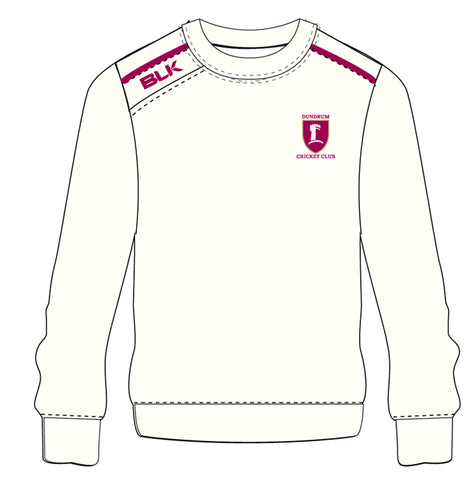 Dundrum Cricket Whites Sweatshirt
