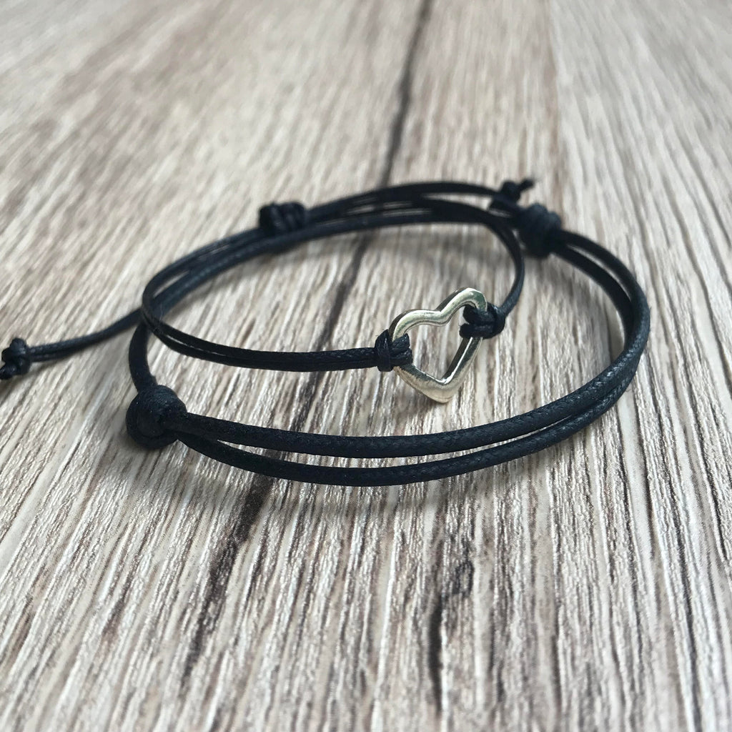 Couples Bracelets, Simple Bracelets, Minimalist Bracelets, His and Hers Bracelets, Matching Bracelet Couple - Gifts&Knots
