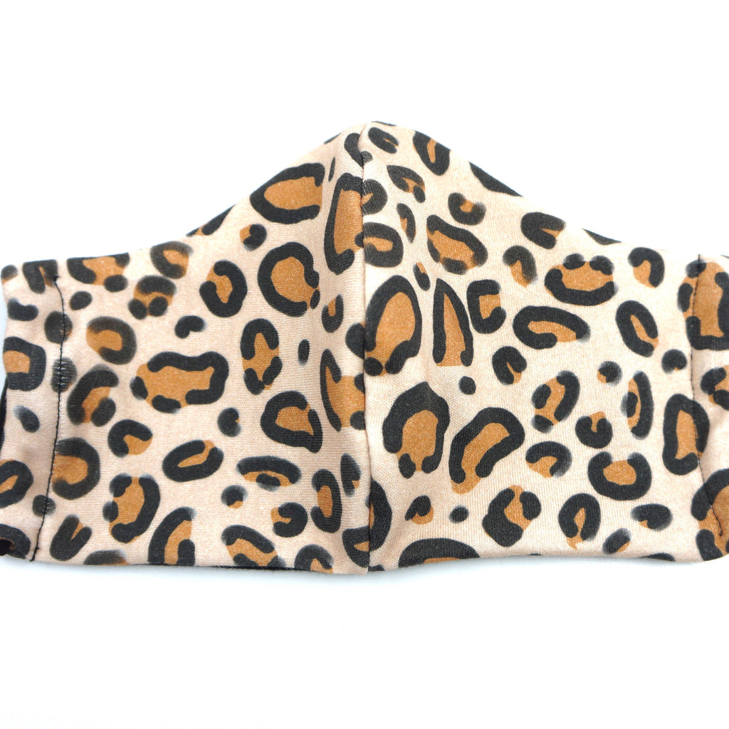 Animal Print Leopard Print Natural Face Mask Cotton