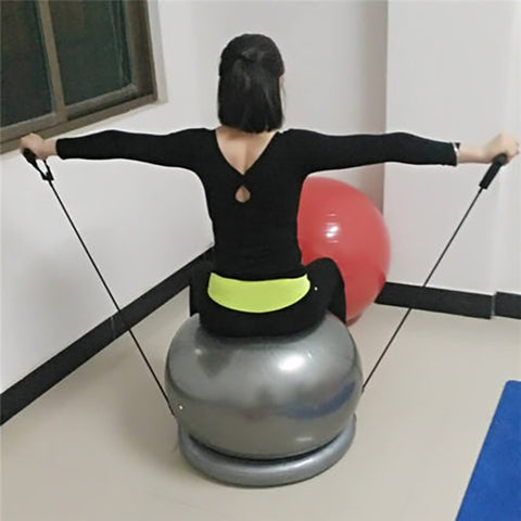 Pilates Yoga Balls Ring Base