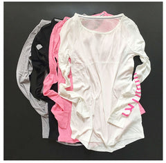 Women T Shirt Sport Suit Yoga