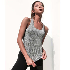 Yoga top tank woman sports