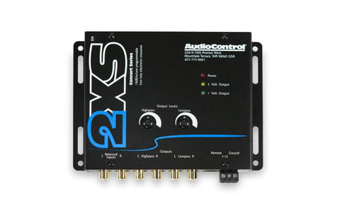 Audio Control 2XS 2-Way Electronic Crossover