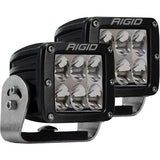 Rigid Industries - 522313 - D-Series PRO Specter Diffused Heavy Duty Black 2 Lights