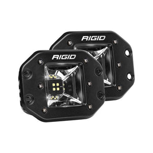 Rigid Industries - 68210 - Radiance Scene White Backlight Flush Mount Pair