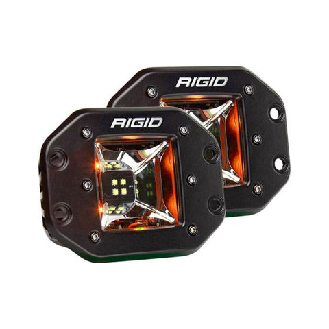 Rigid Industries - 68214 - Radiance Scene Amber Backlight Flush Mount Pair