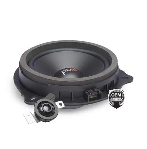 PowerBass OE65C-FD OEM Replacement Component Speaker System Ford / Lincoln
