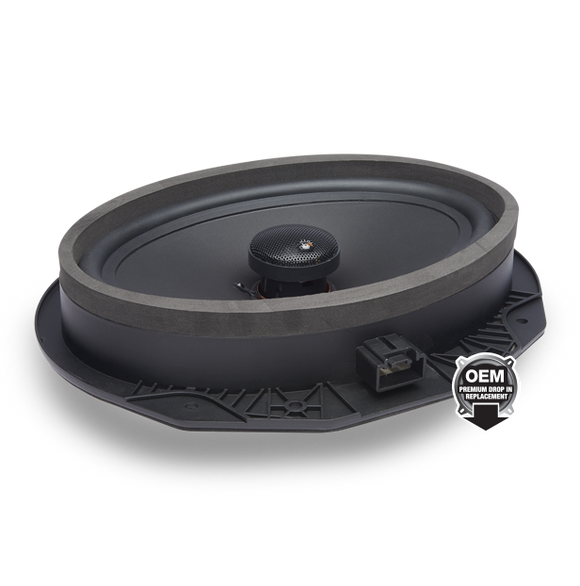 PowerBass OE692-FD Coaxial OEM Replacement Speaker Ford / Lincoln