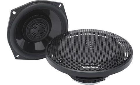 "Rockford Fosgate Power Harley-Davidson® 5.25"" Full Range Tour-Pak Speakers (1998-2013)"