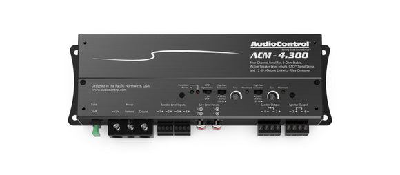 Audio Control ACM-4.300 Four Channel Micro Amplifier