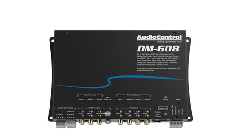 Audio Control DM-608 Premium 6 Input 8 Output Dsp Matrix Processor