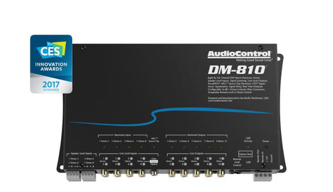 Audio Control DM-810 Premium 8 Input 10 Output Dsp Matrix Processor