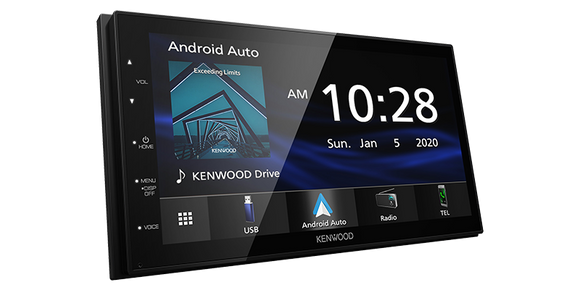 Kenwood DMX4707S Digital Multimedia Receiver with Bluetooth