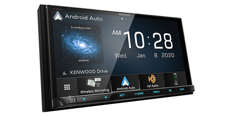 Kenwood DMX907S Digital Multimedia Receiver with Bluetooth & HD Radio