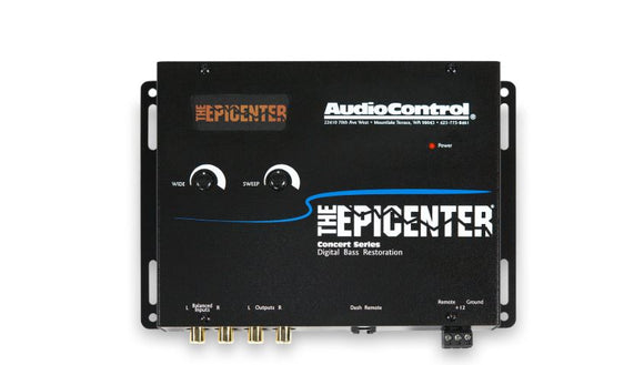 Audio Control The Epicenter® Concert Series Digital Bass Restoration Processor