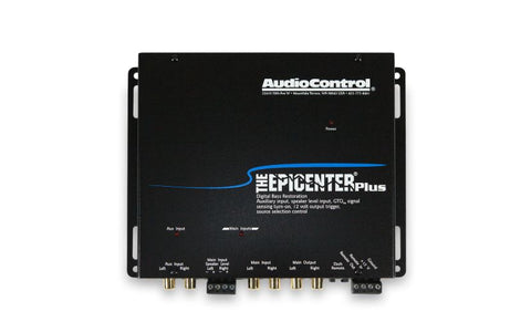 Audio Control The Epicenter Plus Bass Restoration Processor with Aux Input