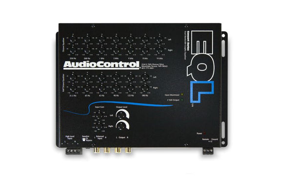 Audio Control EQL 2 Channel Trunk-Mount Equalizer