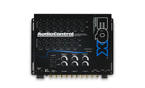 Audio Control EQX 2 channel trunk-mount equalizer with crossover