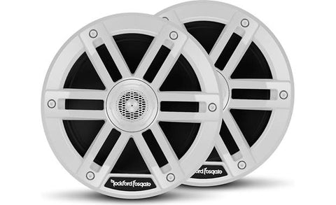 "Rockford Fostgate M0 6.5"" Marine Grade Speakers - White"