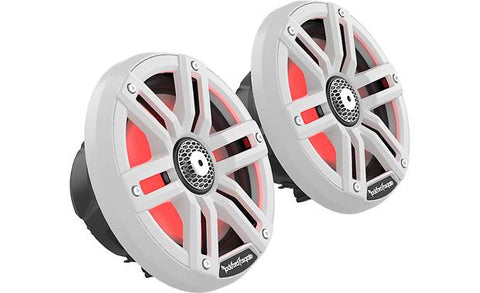 "Rockford Fosgate M2-65 M2 6.5"" Color Optix™ Marine 2-Way Speakers"