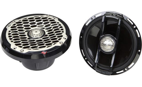 "Rockford Fosgate PM2652B Punch Marine 6.5"" Full Range Speakers - Black"