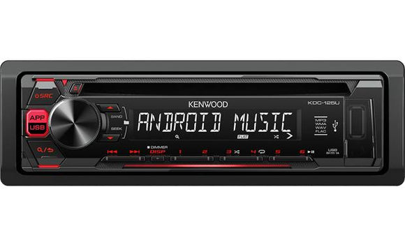 Kenwood KDC-125U - CD Receiver
