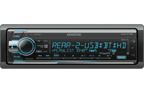 Kenwood KDC-X702 - CD Receiver
