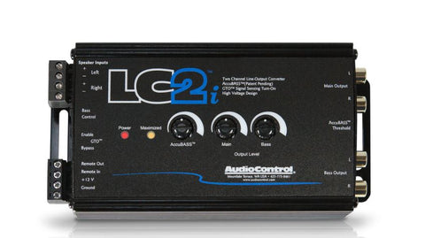 Audio Control LC2i 2 Channel Line Out Converter with Accubass®