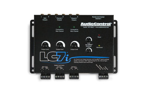 Audio Control LC7i 6 Channel Line Output Converter with Accubass™
