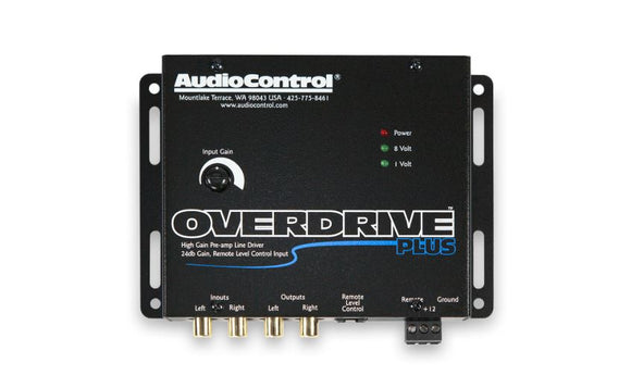 Audio Control Overdrive Plus 2 channel line driver with optional level control