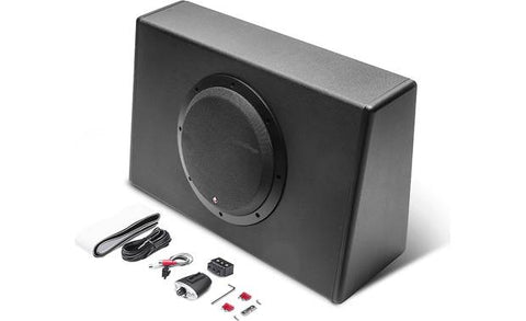 "Rockford Fosgate Punch 10"" 300-Watt Powered Truck Enclosure"
