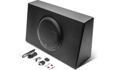 "Rockford Fosgate Punch 12"" 300-Watt Powered Truck Enclosure"