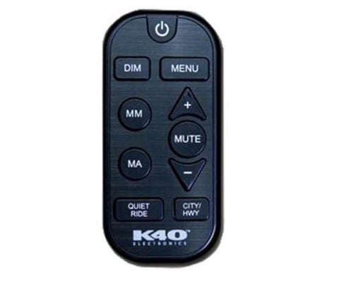 K40 RL360i/RL200i Black Remote Control With SM Button - RCUI