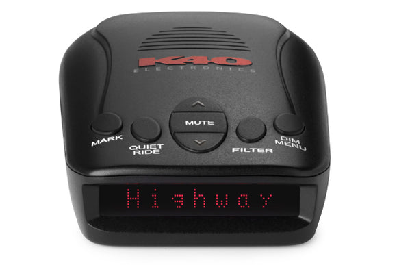 K40 RLS2 - All-Band Radar and Laser Detector With GPS Technology