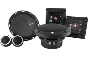 "Rockford Fosgate Power 6.50"" 2-Way Euro Fit Compatible Component System"