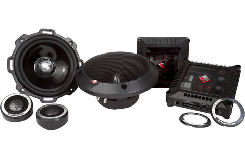"Rockford Fosgate Power 5.25"" Aluminum Component System"